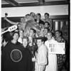 University of Southern California swipe big teddy bear from University of California, Los Angeles, 1952