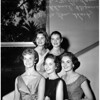Helen of Troy finalists at University of Southern California, 1958