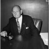 New Coliseum president, 1956