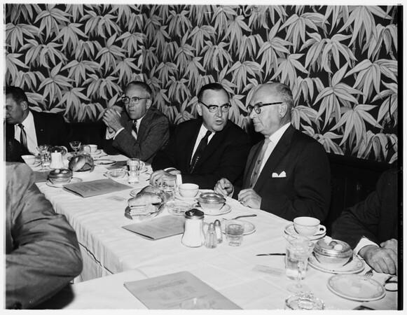 Hearst talk, 1958