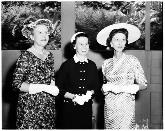 National Charity League, 1958
