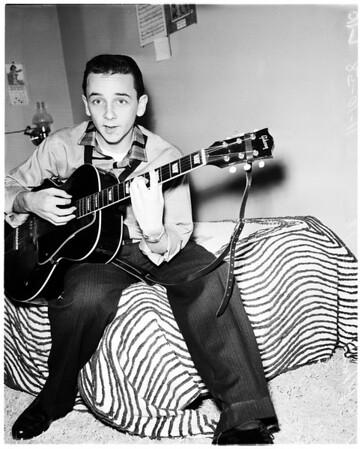 Boy songwriter, 1958