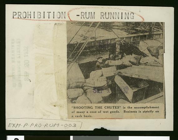 Shooting the chutes, 1932