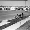 """Torrance Boulevard """"Stop"""" intersection of Carson Street and Palos Verdes Boulevard, 1956"""