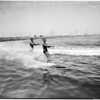 Water skiing -- Los Angeles Lake, 1958