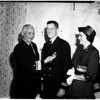 Legion of Merit presentation, 1958