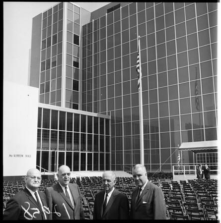 University of Southern California Medical Building dedication, 1961