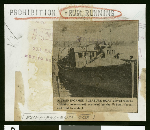 A transformed pleasure boat served well as a rum runner, 1932