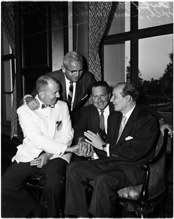 Associations -- Elks honor Ted Husing, 1958