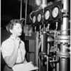 Woman aeronautical engineering student, 1958
