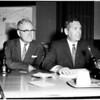 Chavez Ravine hearing (ball park), 1958