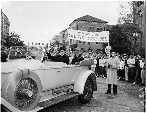 University of Southern California flapper day parade, 1954