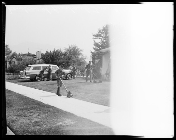 Scouts Hawaii trip, 1958