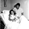 Triplets born, 1958.