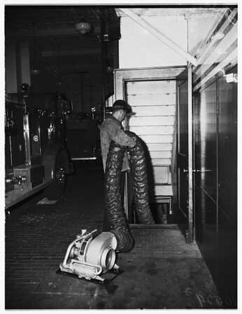 Fire story (Engine Company #23 at 5th Street and Maple Street), 1953