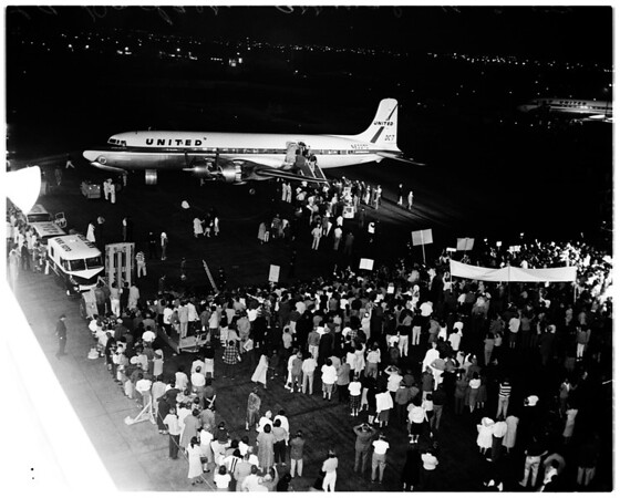 Dodgers arrival, 1959