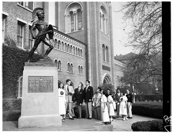 Troy Day at University of Southern California, 1953