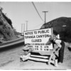 Los Angeles Streets (Topanga Canyon Road), 1955