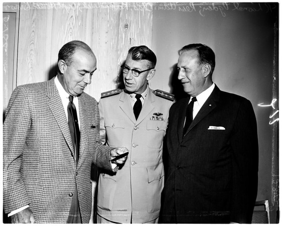 Navy League of United States dinner, 1958