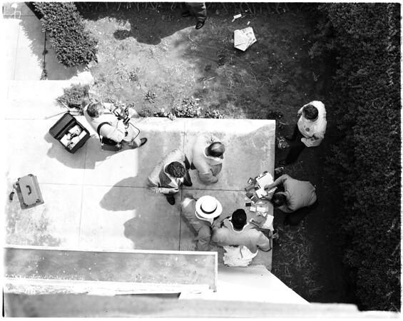 Woman murdered, 2839 West Eighth Street, 1958
