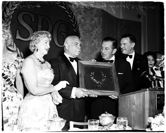Skouras Milestone Award, 1958