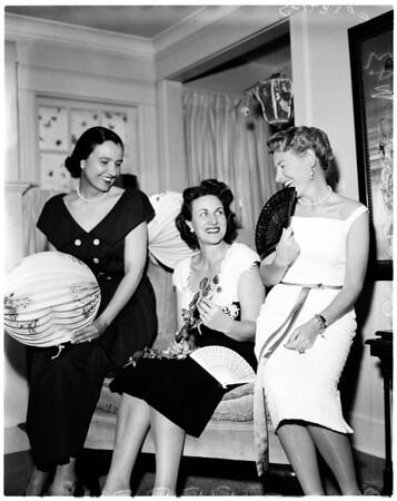 Della Robbia Guild planning provisional party, 1958