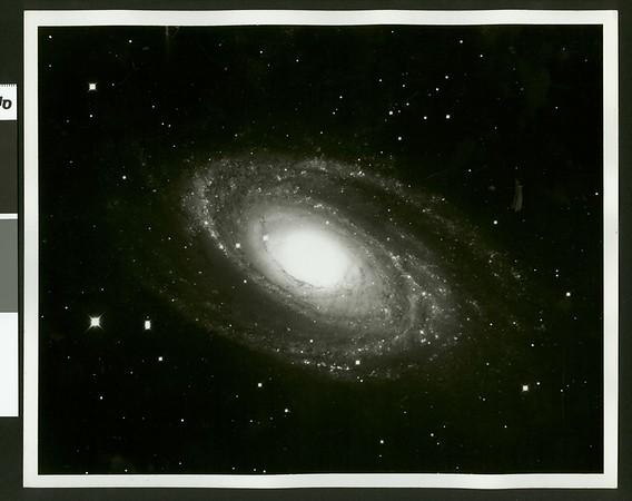 Large spiral galaxy in Ursa Major, 1960
