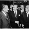 Hearst talk at Statler Hotel (Rotary luncheon), 1958