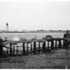 Dock deteriorating (Harbor series), 1953