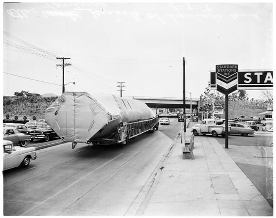Atlas missile, 1958