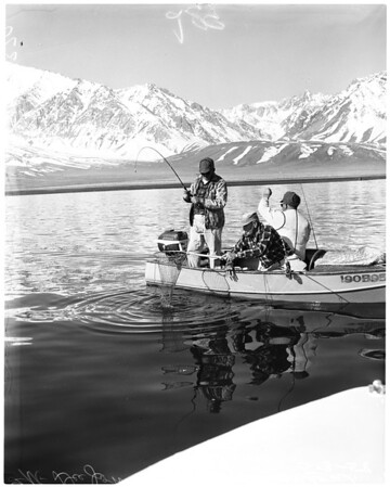Fishing -- Lake Crowley, 1958