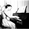 Teen-age musician, 1958
