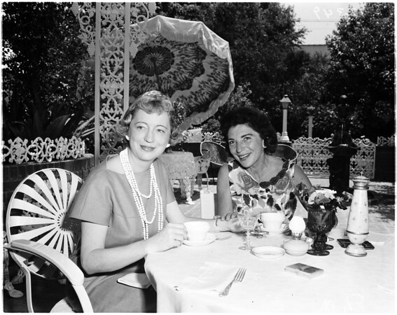 Carter luncheon, 1958