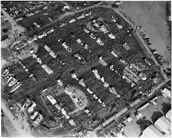 Post parade air photos by Sansone, 1956