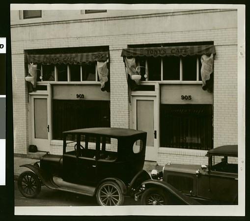 Another speakeasy!, 1929