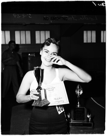Posture contest, 1958