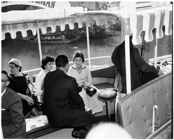 Princess at Disneyland, 1958