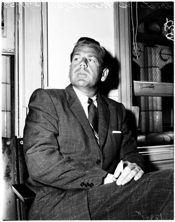 Law suit, 1958.