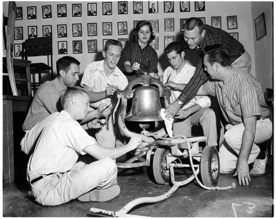 Trojan Victory bell, 1956