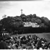 Easter at Mount Rubidoux in Riverside, 1958