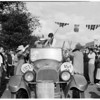 University of Southern California homecoming (decorating floats, etc.), 1953