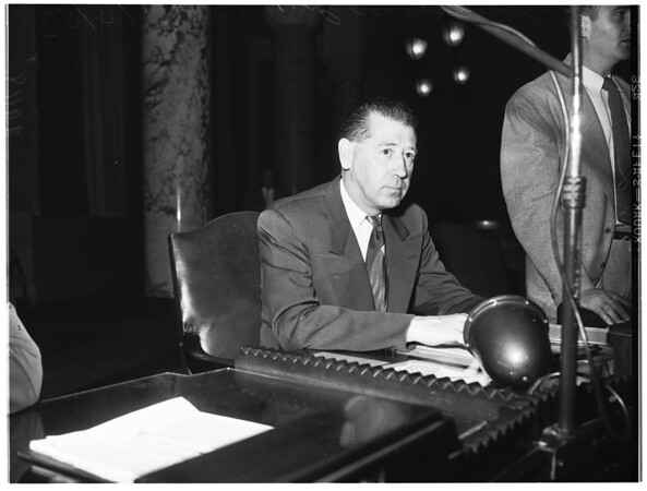 City Council election row, 1953