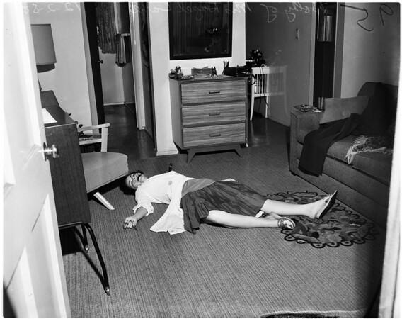 Fork murder in Long Beach, 1958