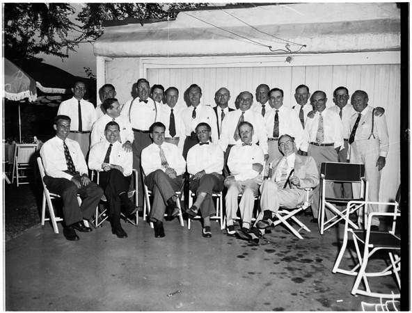 Nixon party, 1955