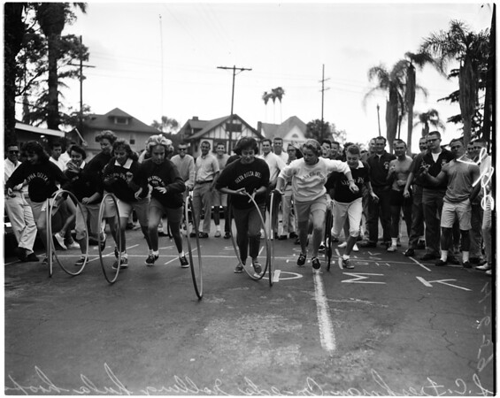 University of Southern California hula hoop race, 1959