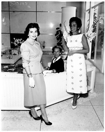 Women's Architectural League home tour story, 1958