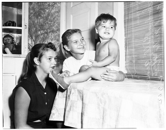 Hill family, 1958