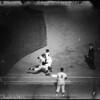 Baseball Dodgers versus Giants, 1958.