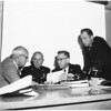 Fire department inquiry, 1955