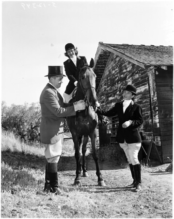 West Hills Hunt club, 1958